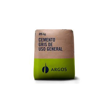 CEMENTO GRIS X 25 KGS