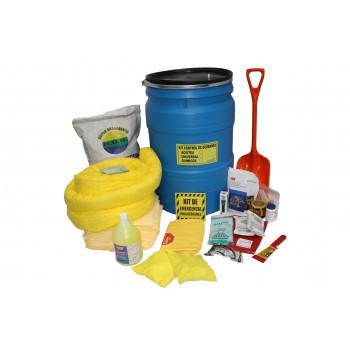 Kit Derrames  Para Químicos  55 Gl - eLECTROMANFER