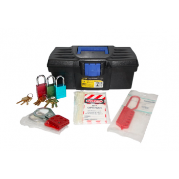 Kit Lockout Para Caja Plastica