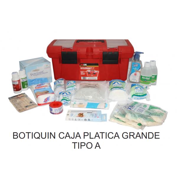 Botiquín Caja Plástica Tipo A Grande - ELECTROMANFER