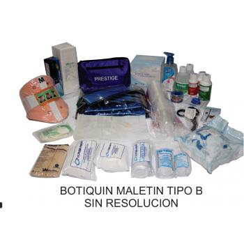 Botiquín  Maletín Tipo B Grande / Sin Resolución