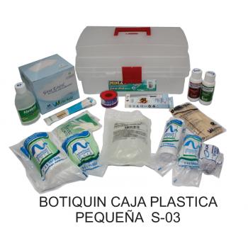 Botiquín Caja Plástica Pequeña Tipo A