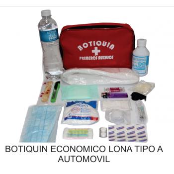 Botiquín Económico Automóvil