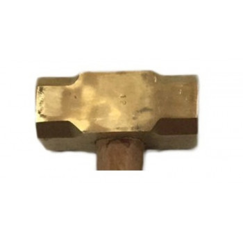 Maceta Bronce Cabo Madera Diferentes Pesos - Electromanfer