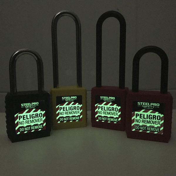 Caja X5 Und Llave Maestra - Candado Grillete Nylon - Electromanfer