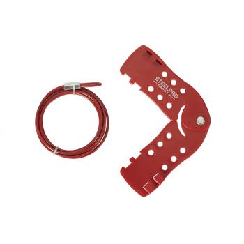 Bloqueo Múltiple Con Cable Acero Inox Recubierto de 5mm X 2mm - Electromanfer