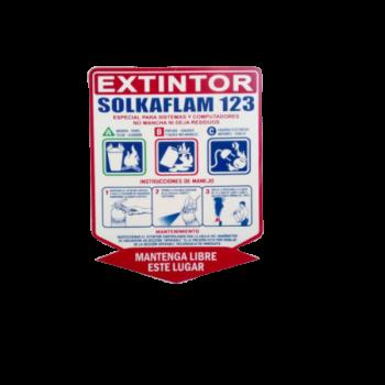 Señal Extintor - Electromanfer