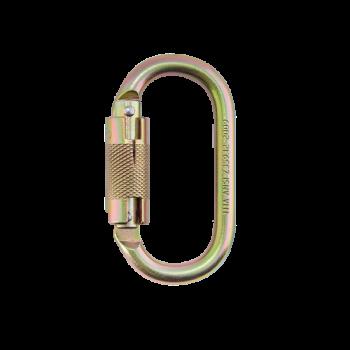 Mosquetón Simétrico Doble Seguro-electromanfer