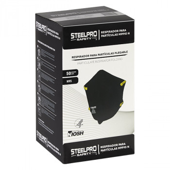 Respirador M9910 Negro Steelpro - Electromanfer