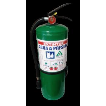 Extintor Agua Presion 2.5 Kgs - Electromanfer