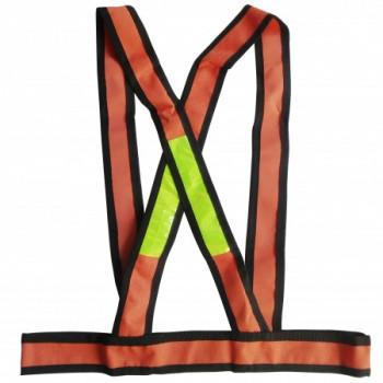 Chaleco Reflectivo Cruzado Naranja - Electromanfer
