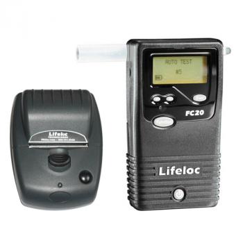 Alcoholimetro Marca Lifeloc Modelo Fc20 Con Impresora - Electromanfer