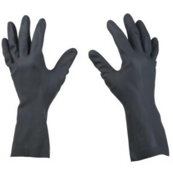 Guante caucho negro T8 C35