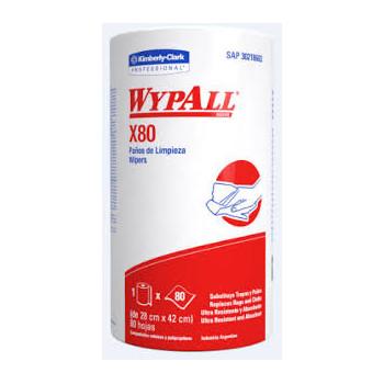 WYPALL X-80  ROLL (28X42) 80 P  ROLLO       electromanfer